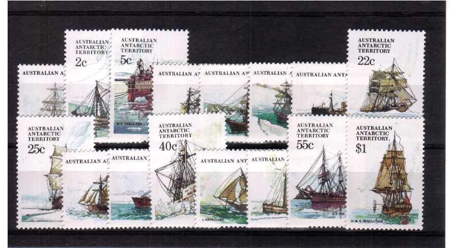 ''Ships'' - A superb unmounted mint set of sixteen
