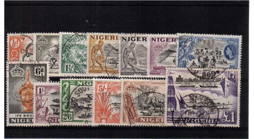 A superb fine used set of thirteen. <br/><b>ZQR</b>