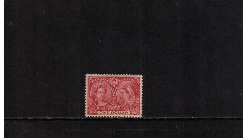 $1 Lake ''Queen Victoria Jubilee Issue''<br/>A lightly mounted mint superbly centered and bright a fresh. Pretty!