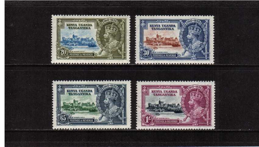 Silver Jubilee set of four superb unmounted mint<br/><b>SEARCH CODE: 1935JUBILEE</b><br/><br/><b>XUX</b>