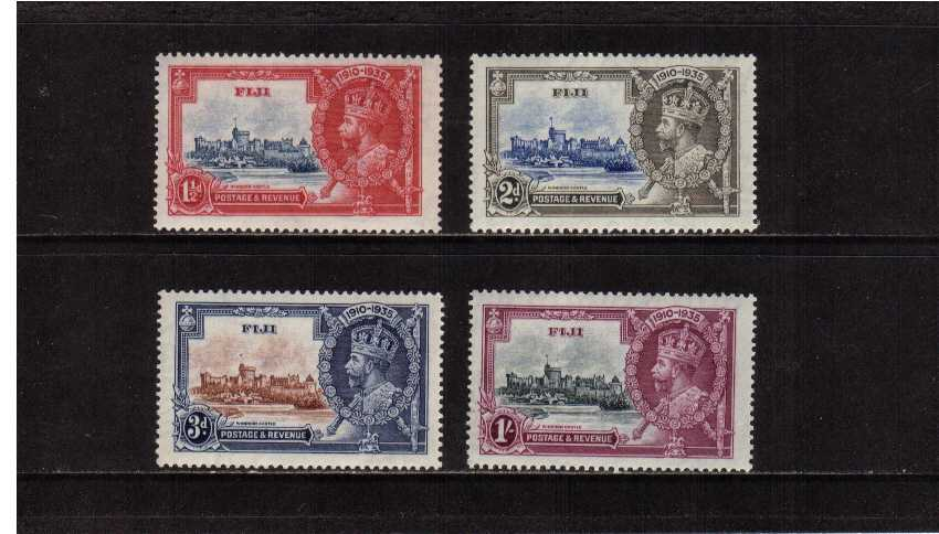 Silver Jubilee set of four superb unmounted mint.<br/><b>SEARCH CODE: 1935JUBILEE</b><br/><b>QVQ</b>