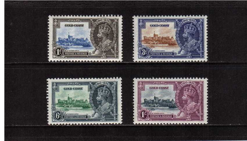 Silver Jubilee set of four superb unmounted mint.<br/><b>SEARCH CODE: 1935 JUBILEE</b><br/><b>UFU</b>
