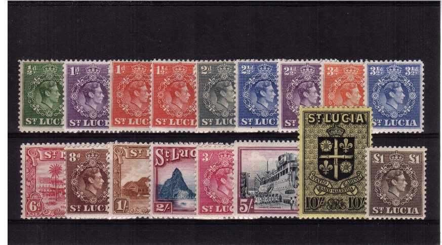 A superb unmounted mint set of seventeen.<br/><b>QJQ</b>