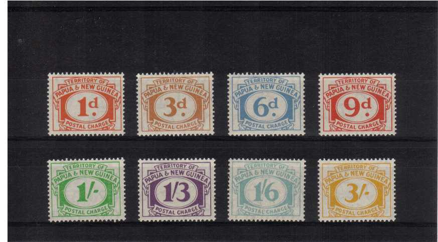 Superb unmounted mint set of eight.<br/><b>UEU</b>