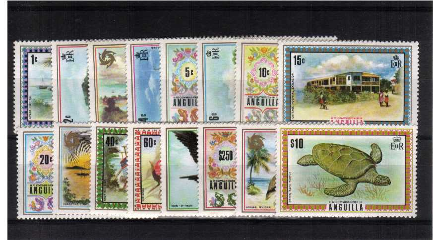 Superb unmounted mint set of sixteen.<br/><b>UEU</b>