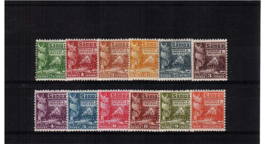 A superb very, very lightly mounted mint set of twelve with many being unmounted.<br/><b>UEU</b>