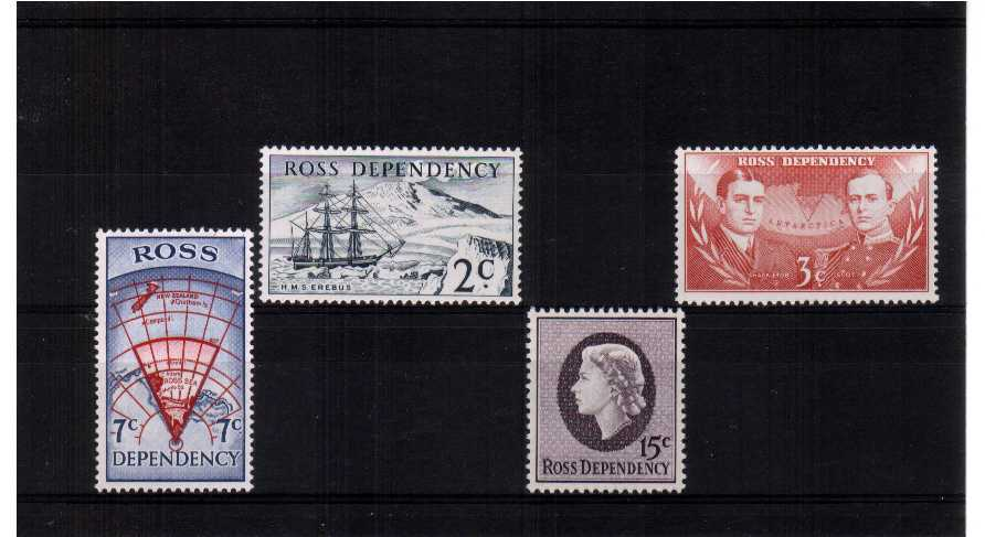 Decimal Currency superb unmounted mint set of four.<br/><b>ZQF</b>