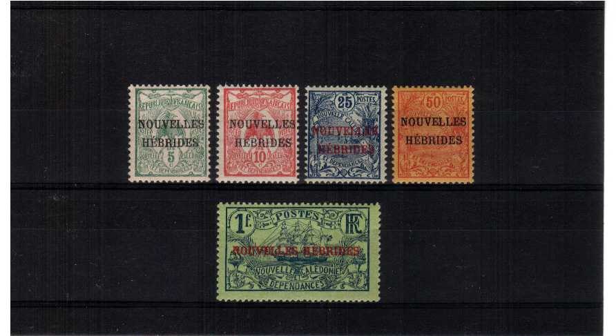 superf mounted mint set of five